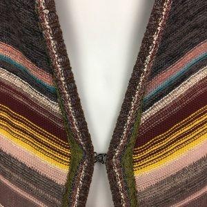 Free People Sweaters - Free People Hooded Color Spectrum Cardigan Duster